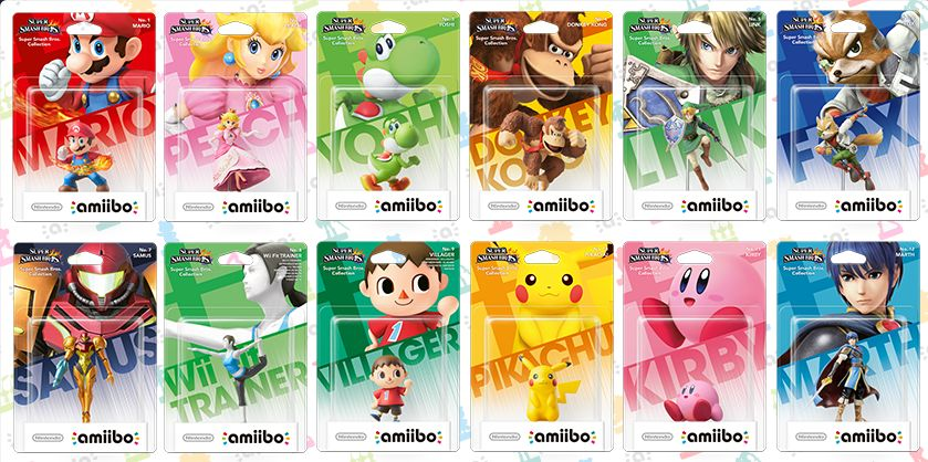 amiibo packages