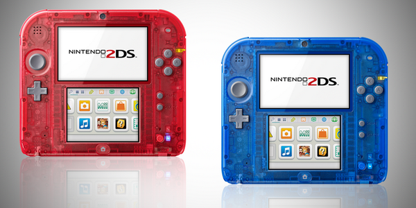 2DS transparent