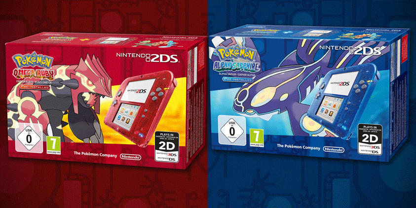 PORAS 2DS bundles