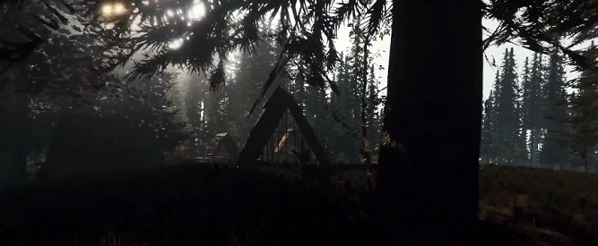 Creepy Survivalist Title The Forest Set To Stalk Ps4 In