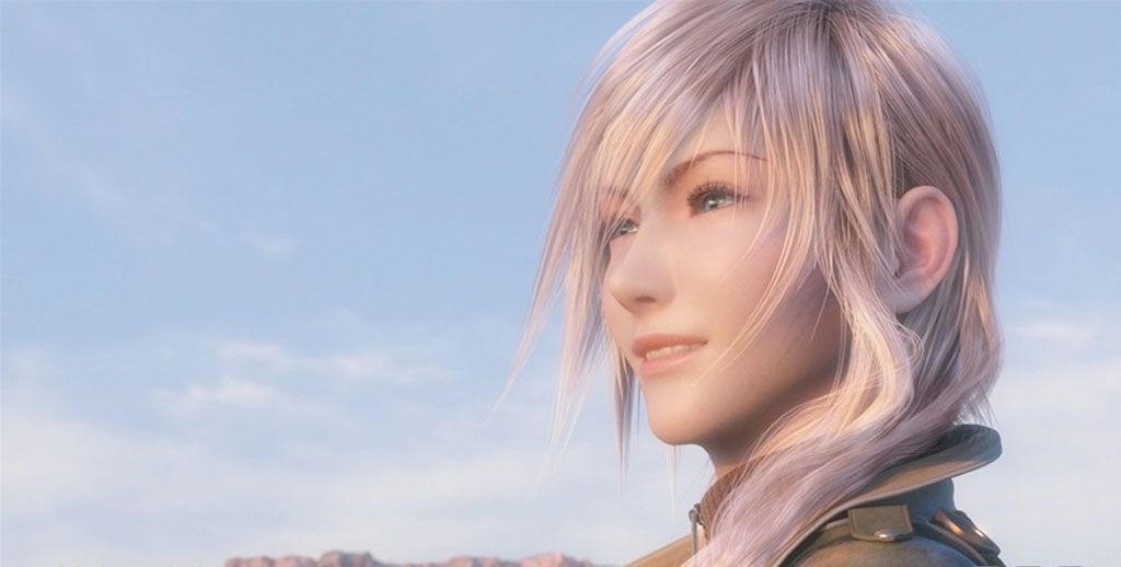 Final Fantasy XIII, FFXIII, Lightning, smile