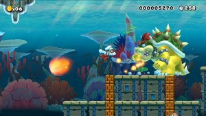 Making something weird like an underwater Bowser battle is simple.